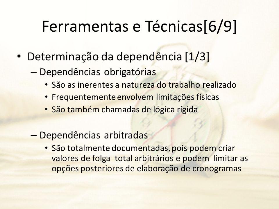 Ferramentas e Técnicas[6/9]